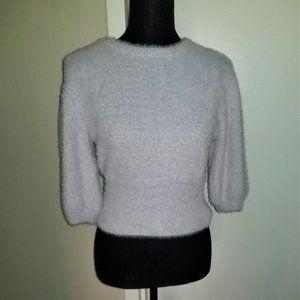 Zara Light Gray Sweater - M